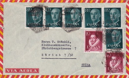 Brief In Die Schweiz (br3006) - 1951-60 Briefe U. Dokumente