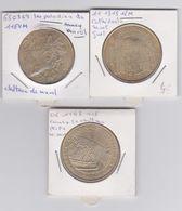 MDP Lot De 3 Médailles - Monnaie De Paris