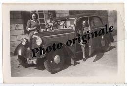 Autos Voitures Automobiles Cars - Photo Photographie Originale - AUTO UNION - DKW F8 - 2 Portes - Avec Femmes - Coches
