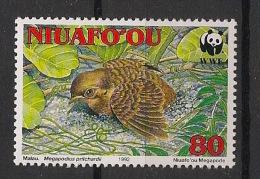 Niuafo'ou - 1992 - N°Yv. 177 - Mégapode / WWF - Neuf Luxe ** / MNH / Postfrisch - Tonga (1970-...)