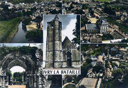 En Avion Au-dessus De IVRY-la-BATAILLE Multi-vues (1249) - Ivry-la-Bataille