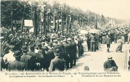 038/30  BRUXELLES  - Carte -  Vue  25è Anniversaire De La Maison Du Peuple - Les Syndicats De Bruxelles. No 19 - Fêtes, événements