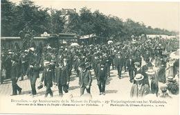 039/30  BRUXELLES  - Carte -  Vue  25è Anniversaire De La Maison Du Peuple -Harmonie De La Maison Du Peuple. No 7 - Fêtes, événements