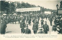 041/30  BRUXELLES  - Carte -  Vue  25è Anniversaire De La Maison Du Peuple - Orverture Du Cortège Harmonie. No 1 - Fêtes, événements