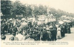 042/30  BRUXELLES  - Carte -  Vue  25è Anniversaire De La Maison Du Peuple - Char Du L'Echo Du Penple. No 16 - Fêtes, événements