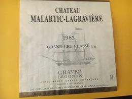 6781 - Château Malartic-Lagravière 1983 Graves Léognan - Bordeaux