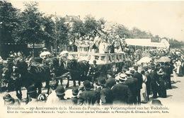 044/30  BRUXELLES  - Carte -  Vue  25è Anniversaire De La Maison Du Peuple - Char Du Personnel De La Maison Du P. No 14 - Fêtes, événements
