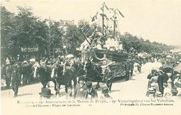 045/30  BRUXELLES  - Carte -  Vue  25è Anniversaire De La Maison Du Peuple - Char De L'Epicerie. No 10 - Fêtes, événements