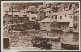 Polperro Showing The House On Props, Cornwall, 1948 - Colling Turner RP Postcard - England
