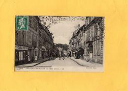 CP - LUXEUIL LES BAINS - D70 - La Rue Carnot - Luxeuil Les Bains