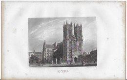Lithographie ,Londres ,Westminster - Lithographies
