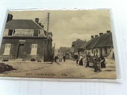 124 - Ault - La Rue De La Pêche - Ault