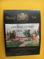 6795 - Château Livran 1970  Médoc - Bordeaux