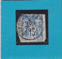 SAGE N° 90  TYPE IIC Etat 1     CACHET Ambulant De Nuit   BREST  A  PARIS -REF 14017 - 1876-1898 Sage (Type II)