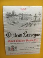 6801 - Château Lassègue Saint Emilion 1982 - Bordeaux