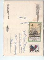 U1883 NICE STAMP On Postcard BRATISLAVA: PANORAMA MESTA - FRANCOBOLLO COMMEMORATIVO - Slovacchia