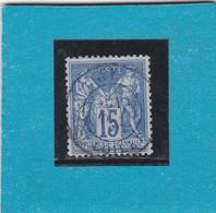 SAGE N° 90  TYPE IIB   CACHET A DATE  TIGY / LOIRET  -REF 14017 - 1876-1898 Sage (Type II)