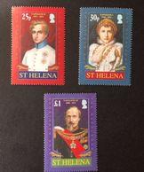 St. Helena The Napoleons - Stamps