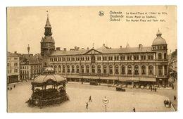 CPA - Carte Postale - Belgique  - Ostende - La Grand Place - L'Hôtel De Ville  (CPV 221) - Oostende