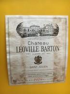 6813 - Château Léoville Barton 1979 Saint-Julien état Moyen - Bordeaux