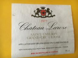 6816 - Château Laroze 1977 Saint-Emilion - Bordeaux