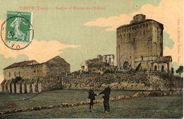 81. Vaour. Donjon Et Ruines Du Chateau - Vaour