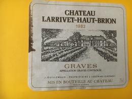 6828 - Château Larrivet-Haut-Brion 1982 Graves - Bordeaux
