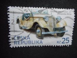"3 Timbres REPUBLIQUE TCHEQUE ""osobni Automobil Z4 Zbrojovka Brno"" - Variétés Et Curiosités"