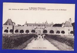 ERQUY VAL ANDRE Chateau De Bien Assis Femme Et Vaches Sur La Route : Très Très Bon état : +4671) - Erquy