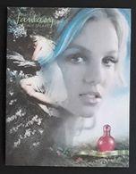 TARJETA FANTASY - BRITNEY SPEARS. - Cartas Perfumadas
