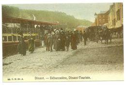 DINANT, - Débarcadère, Dinant-Touriste. REPRODUCTION Carte Cartophile Manneken-Pis Club An 1988. Président A. Laoureux. - Bourses & Salons De Collections