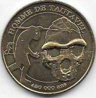 MEDAILLE TOURISTIQUE MONNAIE DE PARIS PYRENEES ORIENTALES  HOMME DE TAUTAVEL 2010 - Monnaie De Paris
