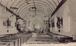SAINT-JEAN-DE-LA-NEUVILLE : Interieur De L'Eglise - Frankreich