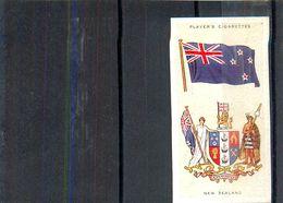 Image Player's Cigarettes A Series Of 50 N°31 National Flags And Arms New Zealand Drapeau De La Nouvelle-Zélande - Player's
