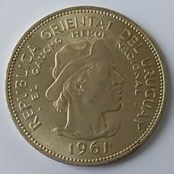 Uruguay - 10 Pesos 1961 - El Gaucho - Argent - - Uruguay