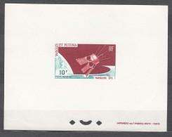 Wallis And Futuna 1966, Airpost Deluxe Presentation Sheet - Wallis-Et-Futuna