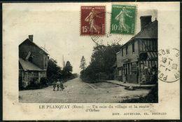 Cpa  Le Planquay Commerce Route D'Orbec - Sonstige Gemeinden