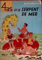 LES 4 AS ET LE SERPENT DE MER (FRANÇOIS CRAENHALS- GEORGES CHAULET) 1964 PREMIÈRE ÉDITION MAIS MAUVAIS ÉTAT - 4 As, Les