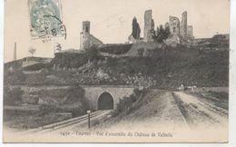 TOURVES  VUE D ENSEMBLE DU CHATEAU DE VALBELLE  1906 TTBE - France