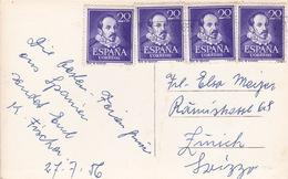 Karte In Die Schweiz (br3008) - 1951-60 Briefe U. Dokumente