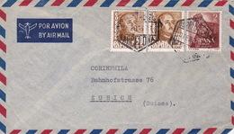 Brief Von Barcelona In Die Schweiz (br3010) - 1951-60 Briefe U. Dokumente