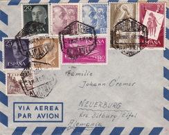 Brief Von Alicante Nach Deutschland (br3011) - 1951-60 Briefe U. Dokumente