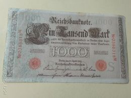 1000 Mark 1910 - [ 2] 1871-1918 : German Empire