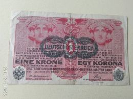 1 Korona 1916 - [ 2] 1871-1918 : Impero Tedesco