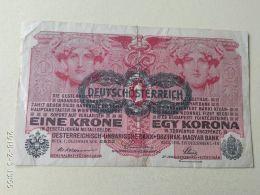 1 Korona 1916 - [ 2] 1871-1918 : German Empire