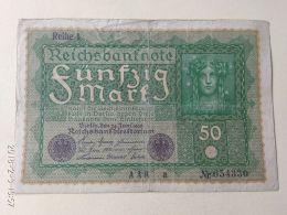50 Marchi 1919 - [ 3] 1918-1933 : República De Weimar