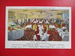 CPA  NEW YORK PUBLICITE WIVEL RESTAURANT - Cafés, Hôtels & Restaurants