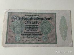 500000 Marchi 1923 - 1918-1933: Weimarer Republik