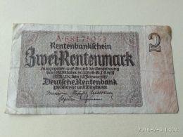 2 Marki 1937 - [ 4] 1933-1945 : Terzo  Reich