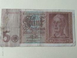 5 Marki 1942 - [ 4] 1933-1945 : Third Reich